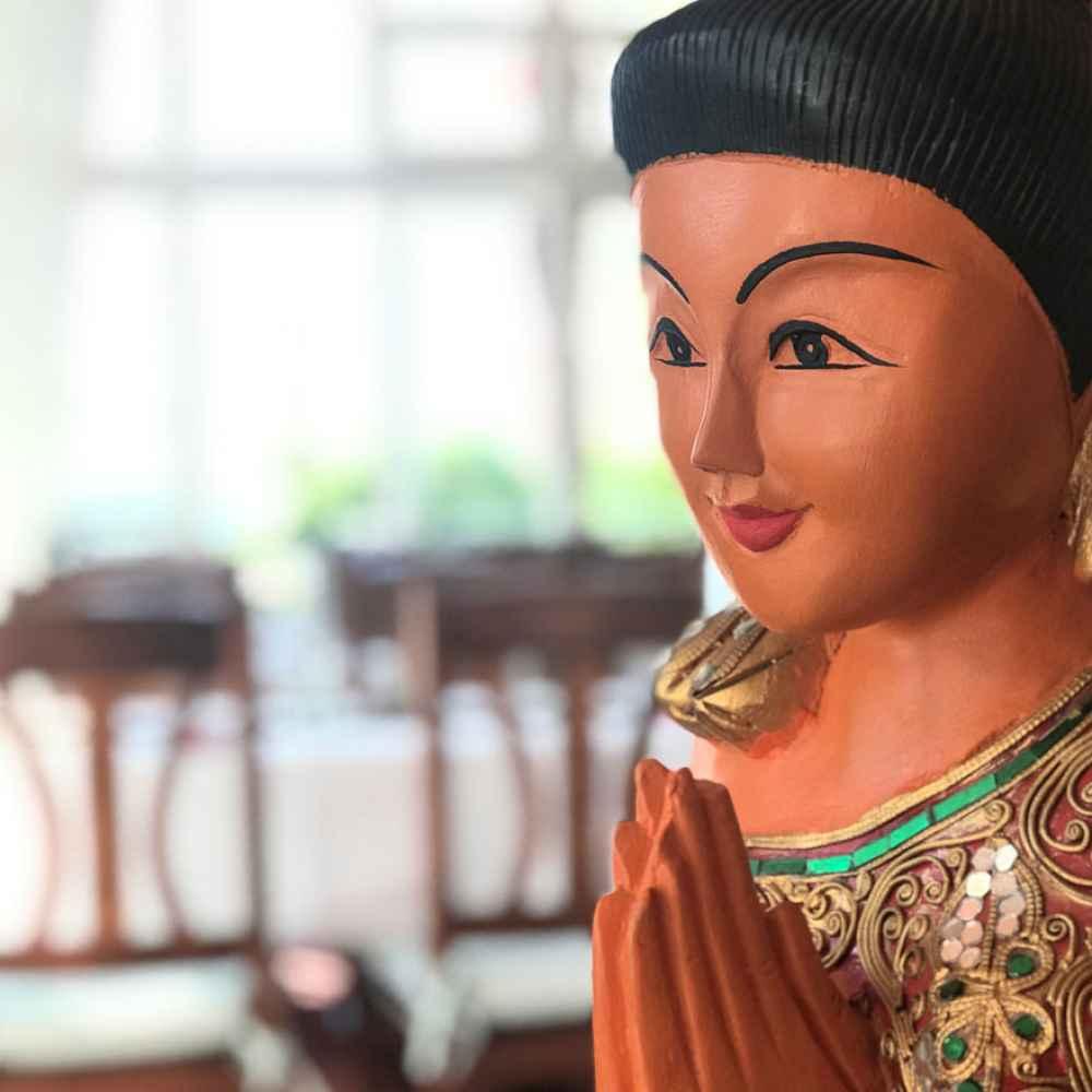 Thailändisch, budistische Figur